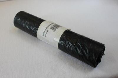 Sáček do koše 60 L, 60x80 cm černý / 10ks - 1