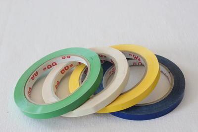 Lepící páska PVC 9mm x 66m BÍLÁ