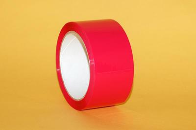 Lepící páska BOPP 48mm x  66m AC, červená