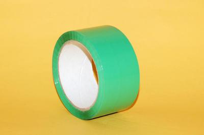 Lepící páska BOPP 48mm x  66m AC, zelená