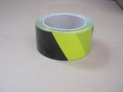 Lepící páska PVC 50mm x 66m, černožlutá