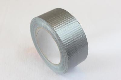 Lepící páska textilní 518, 48mm x 50m, šedá - 1