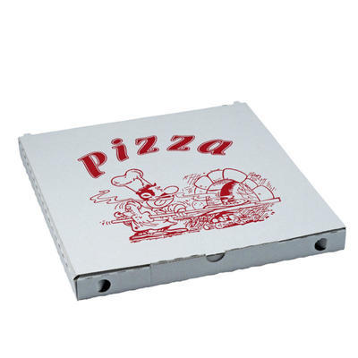 Krabice na pizzu potištěná 34 x 34 x 3cm / 100ks - 1