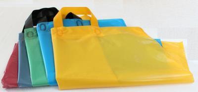 Taška 40 x 45 + 5cm, barevná, s uchem / 25ks