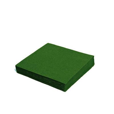 Ubrousek 1-vrstvý, 33 x 33cm zelený / 100ks