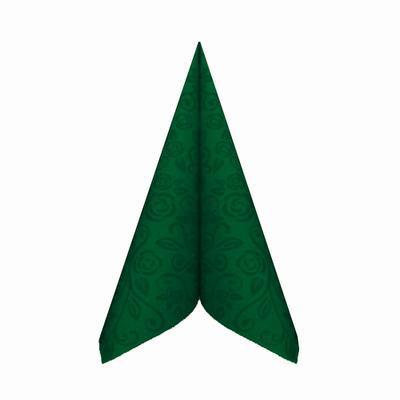 Ubrousek Premium 40 x 40cm zelený tmavý / 50ks