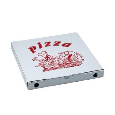 Krabice na pizzu potisk 29,5 x 29,5 x 3cm / 100ks - 1