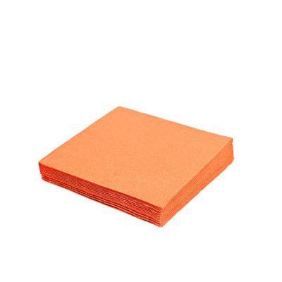Ubrousek 3-vrstvý, 40 x 40cm oranžový / 250ks