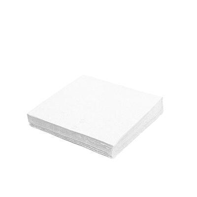 Ubrousek 3-vrstvý, 40 x 40cm bílý / 250ks