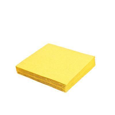 Ubrousek 3-vrstvý, 40 x 40cm žlutý / 250ks