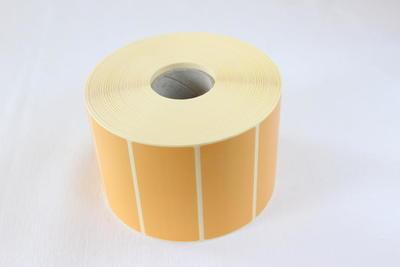 Etiketa 88 x 40mm, žlutá, OUT / 2500ks