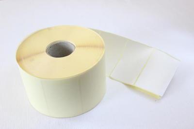Etiketa 60 x 25mm, bílá lesklá, IN / 3000ks