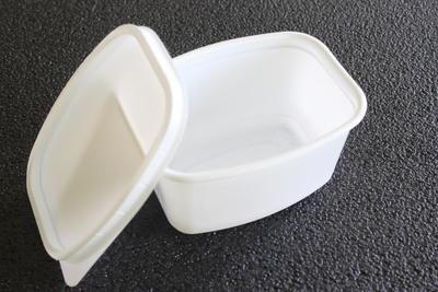 Vanička bílá na sádlo 500ml / 1ks