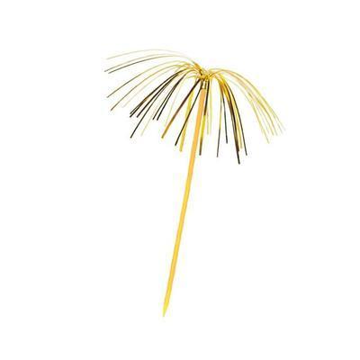 Brčka s palmičkou 24cm x 5mm / 6ks