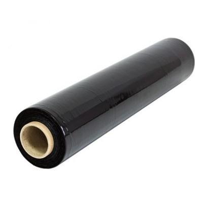 Ruční stretch fólie 500mm, 23µm, 2,72+0,68kg,černá