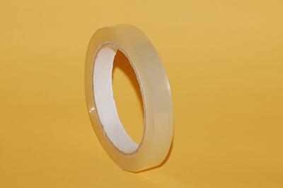 Lepící páska BOPP 15mm x  66m AC, transparentní - 1