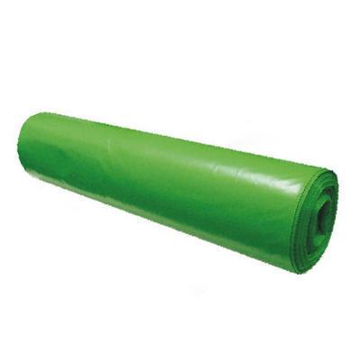 Sáček do koše zatahovací 60l, zelený, 15µm / 10ks - 2