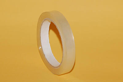 Lepící páska BOPP 15mm x  66m AC, transparentní - 2